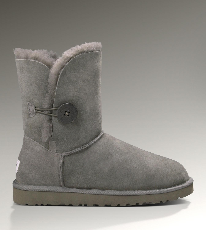 15aa629b601 UGG Bailey Button 5803 Boots Grey Popular [UGG-039] - CAD110.50 ...