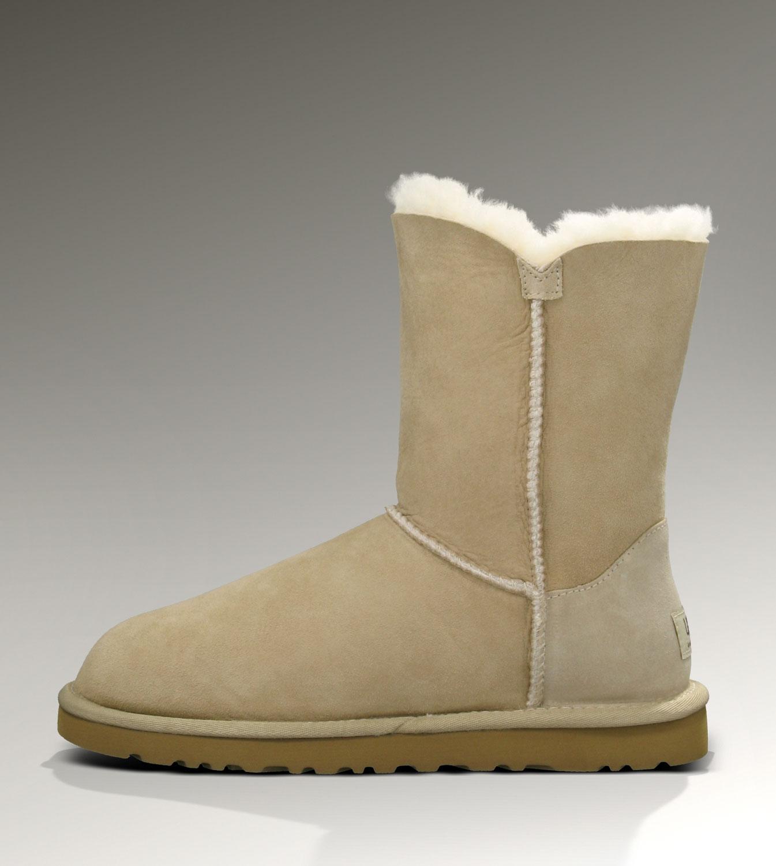 4b3745732d UGG Bailey Button 5803 Boots Sand Elegant [UGG-043] - CAD110.50 ...