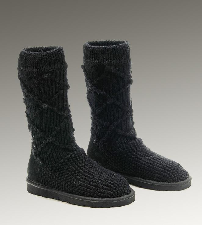 decc09ea174 UGG Classic Cardy Boots 5879 Black Classical [UGG-060] - CAD118.21 ...