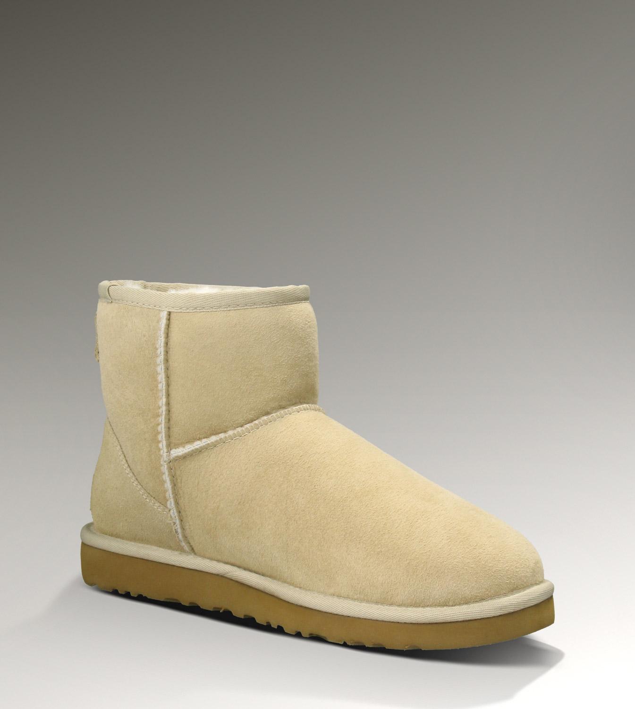 36b006246ac UGG Classic Mini Boots 5854 Sand Elegant [UGG-065] - CAD107.93 ...