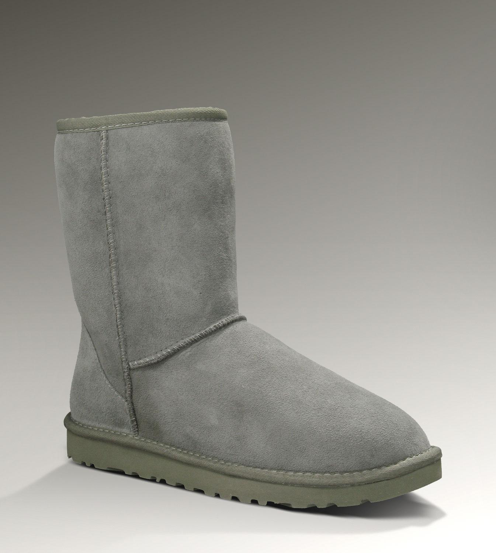 41bb4476021 UGG Classic Short Boots 5825 Grey Popular [UGG-076] - CAD107.93 ...