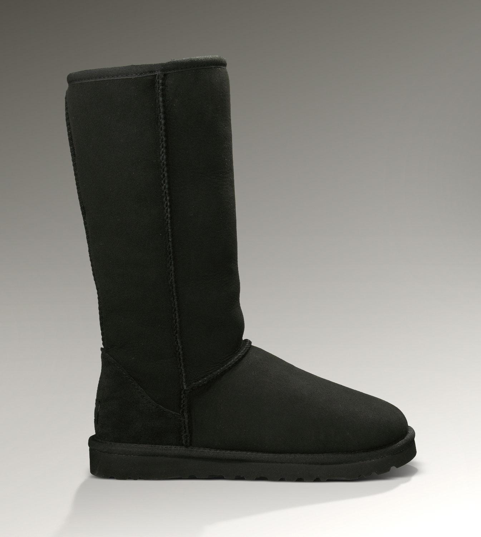 9043b35c120 UGG Classic Tall Boots 5815 Black Classical [UGG-088] - CAD93.79 ...